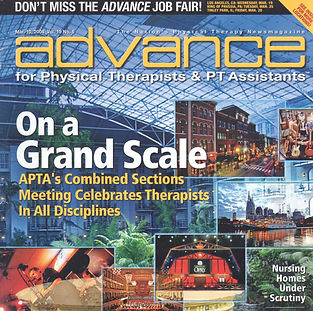 Advance Magazine Cover