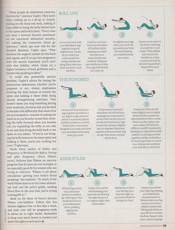 Conceive magazine page 2