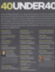 Pasadena Magazine's 40 Under 40