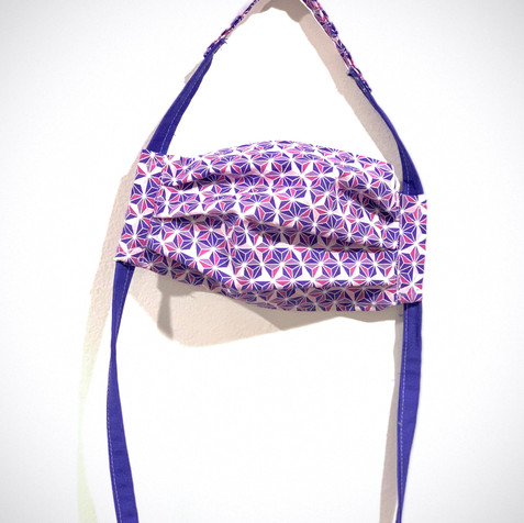 Purple Oragami Mask