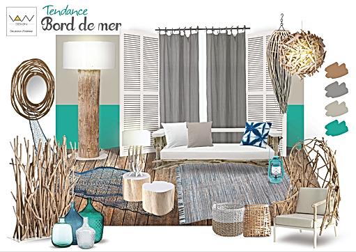 planche tendance bord de mer vandesign Martinique décoration d'intérieur