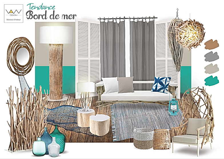 couleur bord de mer affordable bord de mer inspiration. Black Bedroom Furniture Sets. Home Design Ideas