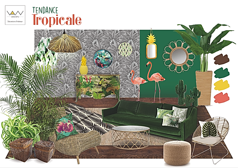Planche tropical png