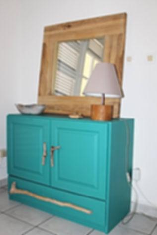 meuble bois flotté relooking restauration vandesign décoration d'intérieur Martinique