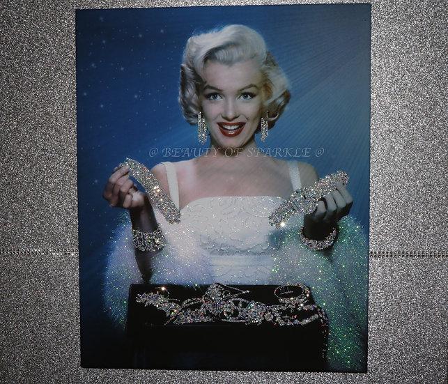 New Marilyn Monroe Diamond Canvas