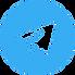 circle-background-arrow-telegram-logo-in