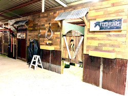 Feed and Tack Room