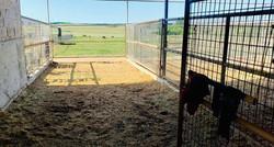 36 foot stalls/run