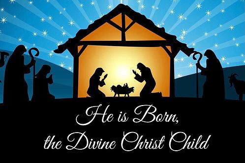 PDF He Is Born, the Divine Christ Child