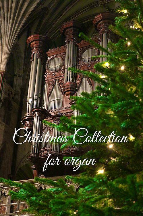 Christmas Collection  PDF (All six Christmas organ pieces)