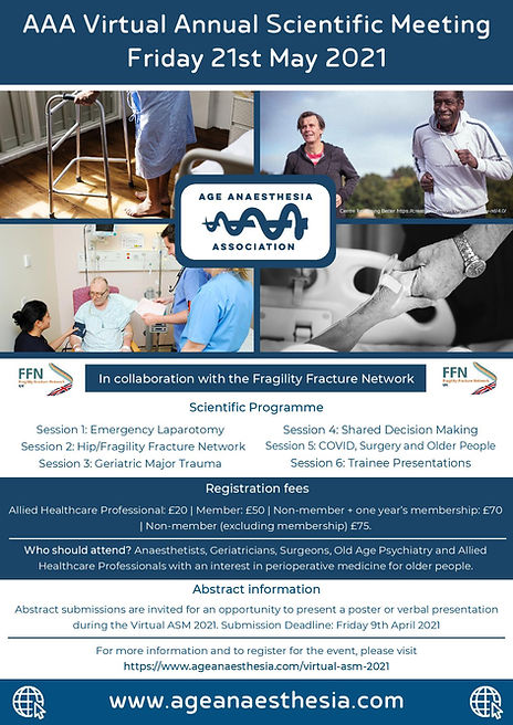 AAA Virtual Annual Scientific Meeting 20