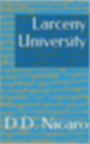 Book Cover - Larceny University.jpg