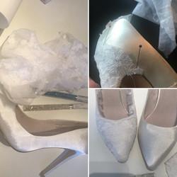 Customising wedding shoes