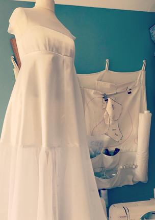 Bodice and petticoat