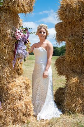 detachable sleeves wedding dress