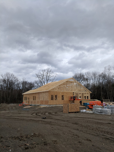 Clubhouse Framing