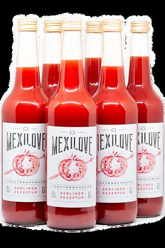 MexiLove Tomatenschnaps (6x700ml, 15% Vol, 12,84€/1L)