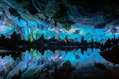 Guilin Kalkstein-Höhle (China)