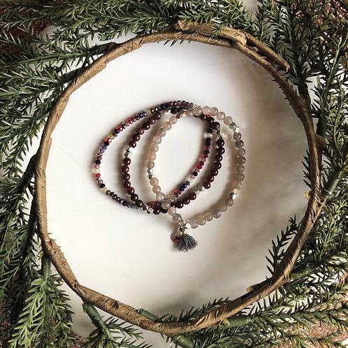 Gemstone Bracelet Holiday Sets