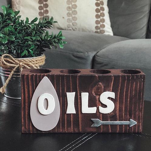 Oils + Arrows Oil Storage Block
