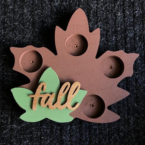 Fall Leaf Block