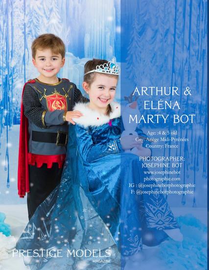 Prestige Model Arthur et Eléna Marty Bot