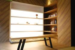 原木溫馨閱讀區