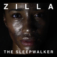 Zilla the sleepwalker white with border.