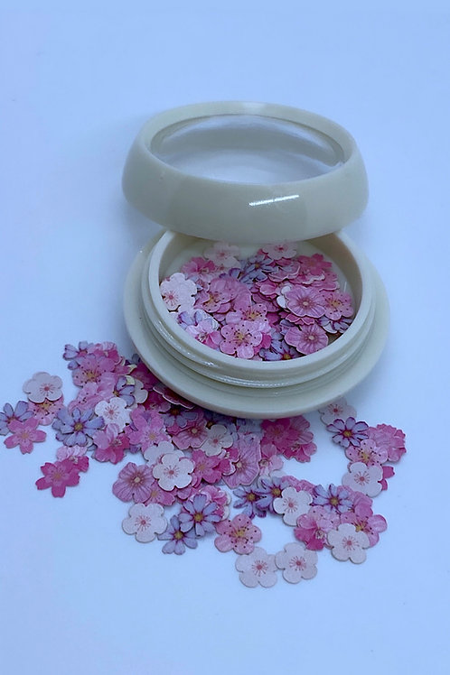 Encapsulated Pinky Flowers