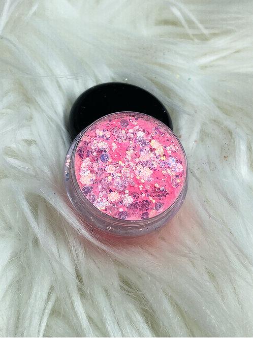 Pink Nail Glitter