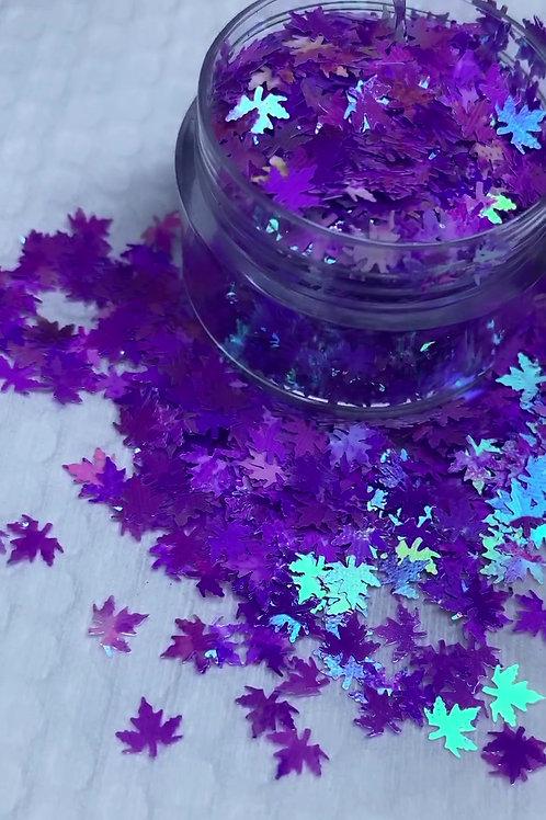 Purple Autumn Leaves