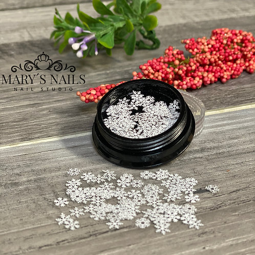 Encapsulated Snow Flake (100 pcs)