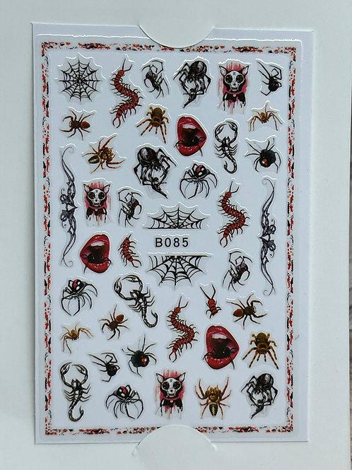 Spider Halloween Sticker