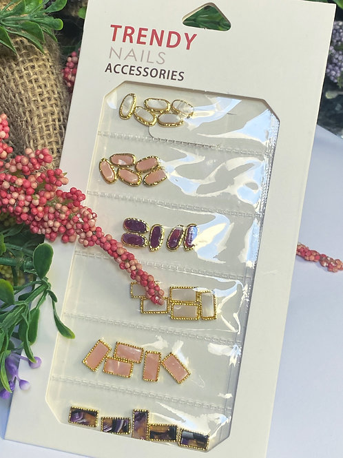 Trendy Crystal Nail Accessories 4