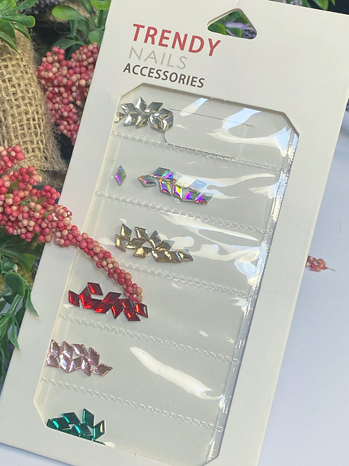 Trendy Crystal Nail Accessories 3