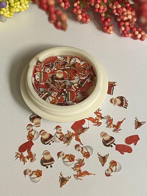 Christmas Nail Decorations 2 (100 pcs)