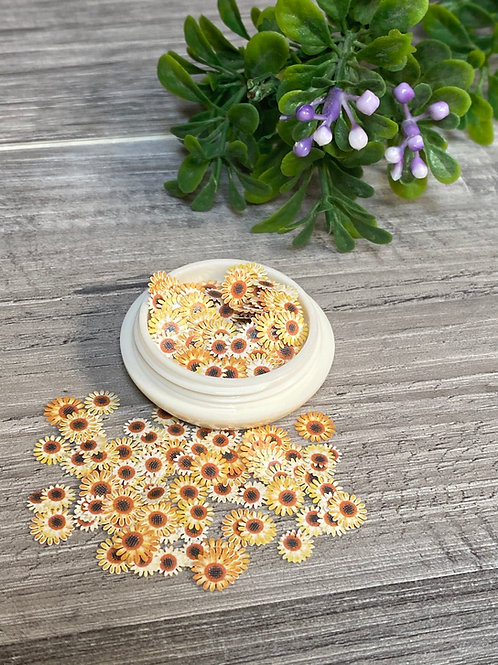 Encapsulated Autumn Flowers (100 pcs)