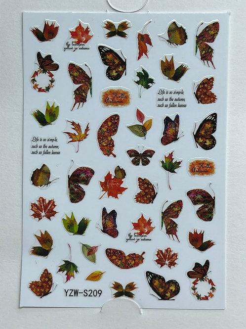 Autumn Theme Sticker