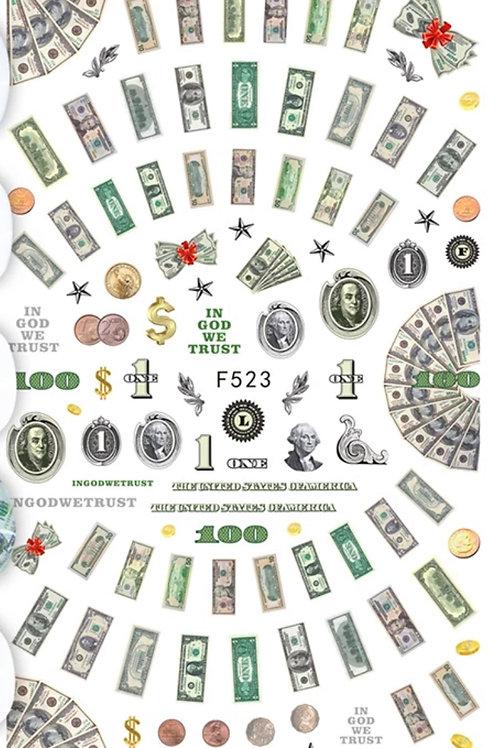 Money ($$$) Nail Art