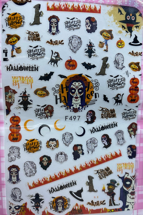 Halloween Nail Stickers 2