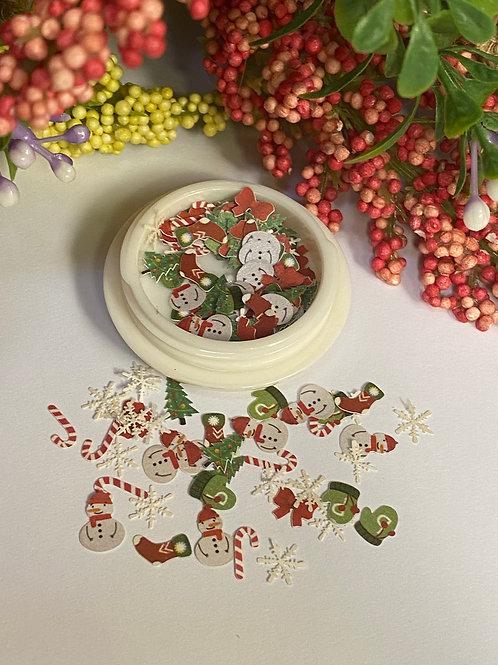 Christmas Nail Decorations 3 (100 pcs)