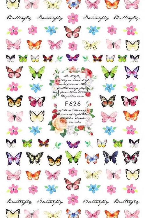 Butterfly Nail Sticker 2