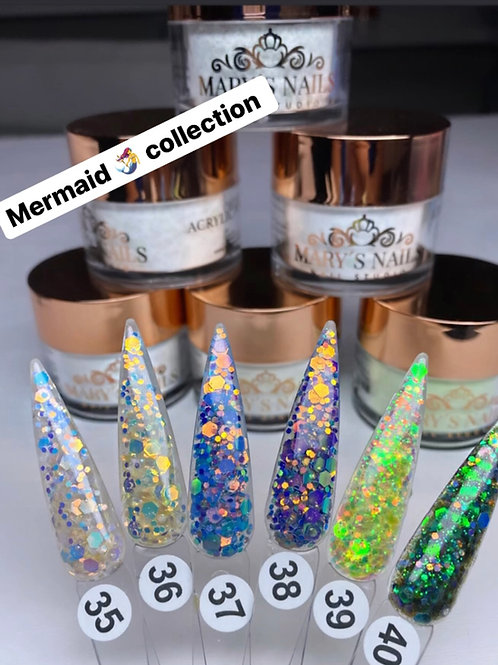Mermaid Glitter Mix Collection