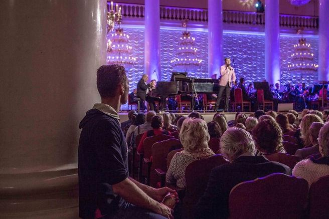 Колонный зал концерт Олешко