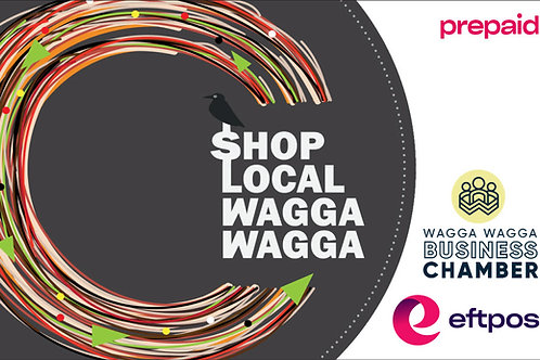 Shop Local Wagga Wagga Gift Card