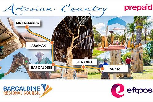 Barcaldine Region Gift Card