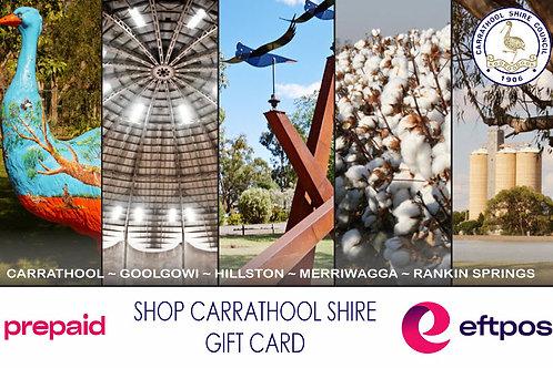 Shop Carrathool Shire Gift Card