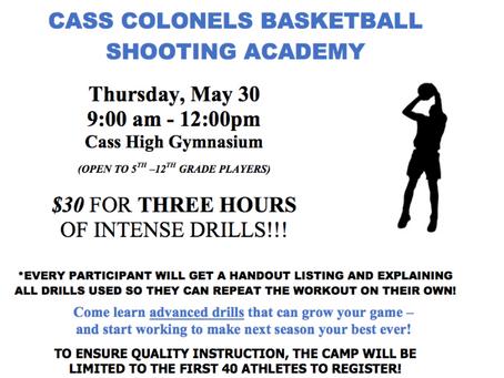 Cass Basketball Summer Skills Camps!