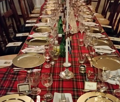 Let's start this blog on Burns Night!