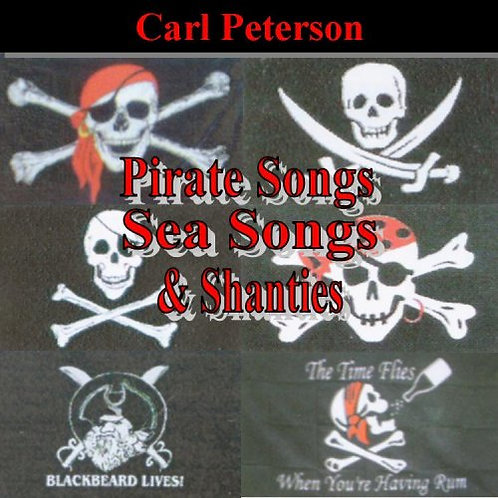 Pirate Songs, Sea Songs & Shanties Volumes 1 & 2